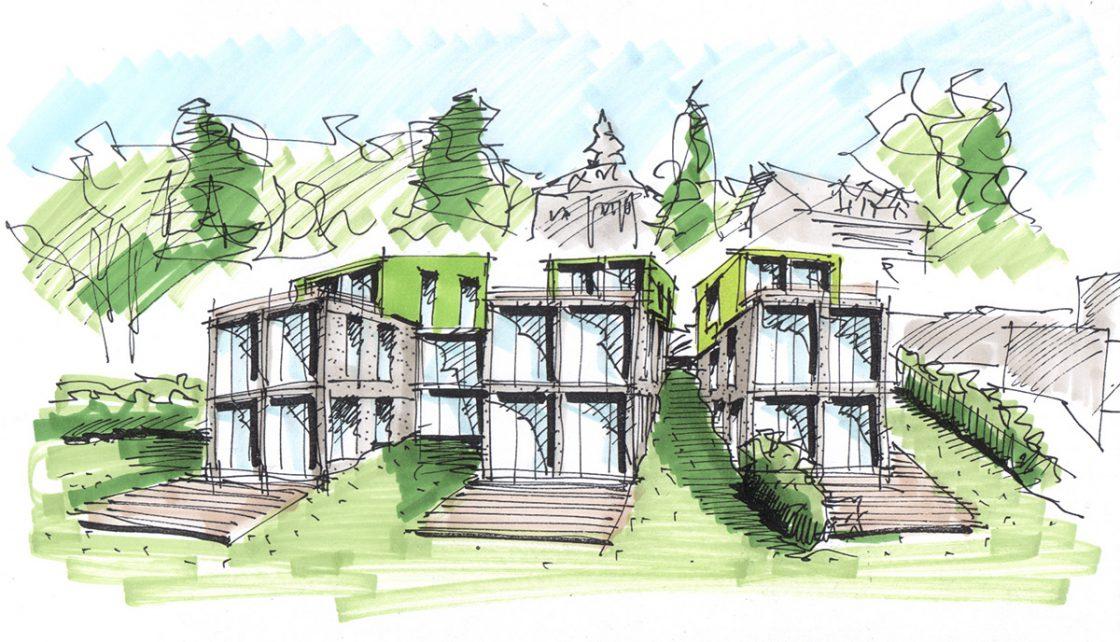 Fünftes Bild zu Architektur-Illustrationen