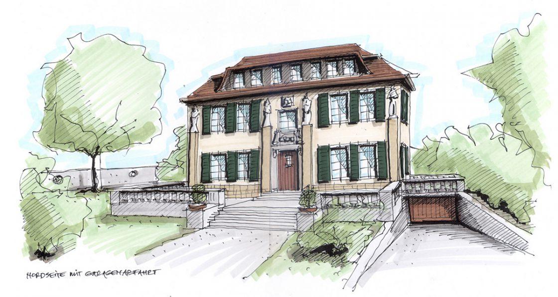Erstes Bild zu Architektur-Illustrationen